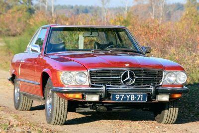 450 SL Convertible W107