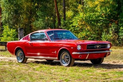 Mustang Fastback 289 V8 automatic