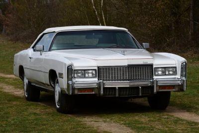 Cadillac Eldorado Convertible triple white