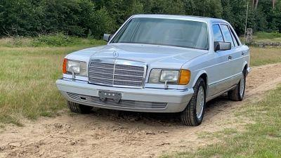 Mercedes-Benz 350 SDL Turbo Diesel Sedan (126)